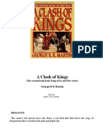 G.R.R. Martin a Clash of Kings