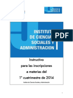 Instructivo ICSyA_Segundo Cuatrimestre