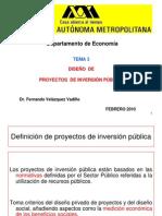 Eval Social de Proy II Inversión Pública