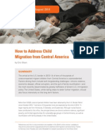 How to Address Child Migration From Central America