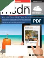 MSDN Magazine, August 2014