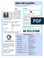 GHS Summer 2014 Bulldog Bulletin- Back-To-School Edition