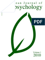 European Journal of Ecopsychology v1