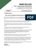 EPA ACCEPTS ALTERNATIVE PLAN FOR NAVAJO POWER STATION