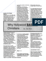 1990 Issue 5 - Why Hollywood Bashes Christians - Counsel of Chalcedon