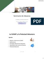 S3_SUNAT y Potestad Aduanera