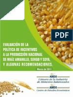 Produccion de Maiz