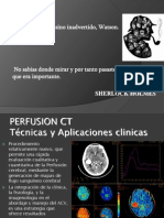 Perfusion in the Brain Stoke
