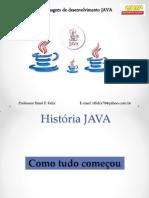 Aula Java História