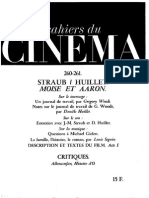 Cahiers Du Cinema 260-261