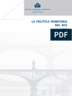 Política Monetaria Del BCE