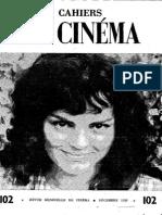 Cahiers Du Cinema 102