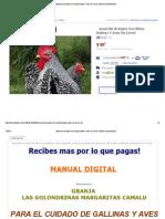 Manual Del Granjero Con Botas Gallinas Y Aves De Corral - $ 80