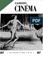 Cahiers Du Cinema 107