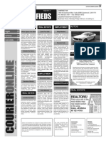 Claremont COURIER Classifieds 8-1-14