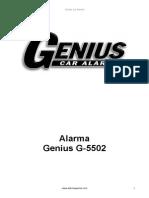 Alarma Genius OEM G5502.pdf