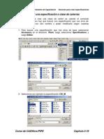 Ejercicio3_Crear Una Especificacion o Clase de Cañerias