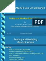 GLV Testing Modeling