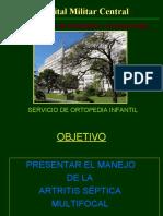 ARTRITIS SEPTICA MULTIFOCAL 322