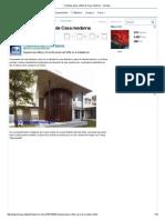 Fachada, Plano y Fotos de Casa Moderna - Taringa!