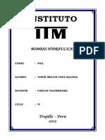 Monografia Bombas Hidraulicas