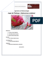 Jugo Pitahaya