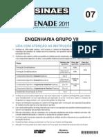 Engenharia Amb Sanitaria ENADE 2011