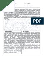 Cuadro de Analisis de Catedra Bolivarina