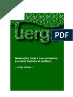 Acordo Ortográfico da Língua Portuguesa - UERGS