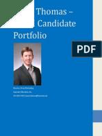 ctsm candidate portfolio - jason thomas