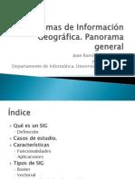 Sistemas de Informacion Geografica Panorama
