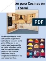 Decoración Para Cocinas en Foami