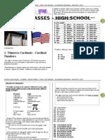 Apostila de Inglês - 1ª Série Ensino Medio - 2011