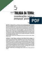 TRILOGIA DA TERRA - Considerações Sobre a Pedagogia Glauberiana Anita Leandro
