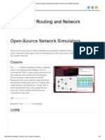 Open-Source Routing and Network Simulation _ Open-Source Network Simulators
