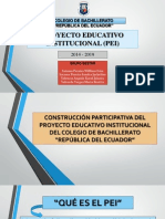 Construccion Pei 2014 Republica Del Ecuador
