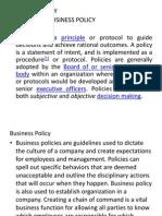 Policy Definitiongbdfer