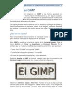 Las Capas y Su Importancia en El Programa de Gimp
