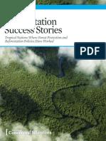 Deforestation Success Stories, 2014