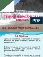 Tema 05 Ecuacion de La Energía