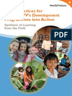 Good Practices Development Programmes