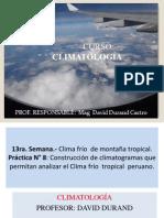 13° Sem  Met Cli Clima Fríos de los Andes  2014