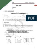 Clase10-Integración Numerica