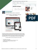 Tutorial_ Diseño y Maquetación Web Para Smartphones y Tabl - Taringa!