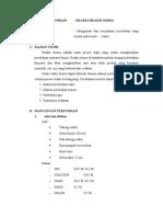 Laporan Hasil Praktikum Reaksi-reaksi Kimia