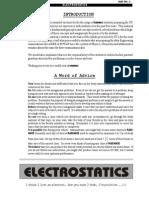 Electrostatics Fiitjee.