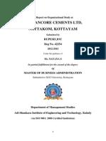A Report on Organizational Study at TCL Kottayam.doc