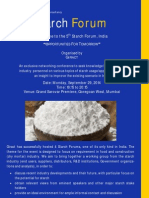 5th Starch Forum 2014 Brochure