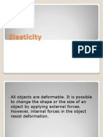 (Elasticity)