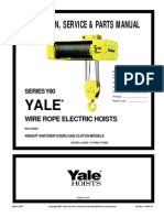 YALE - Wire Rope Electric Hoists